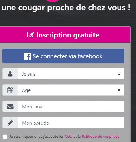 Inscription Gratuite pour des Rencontres avec de Jolies Cougars sur Fougères !